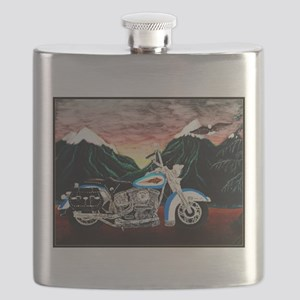 Motorcycle Dream Flask